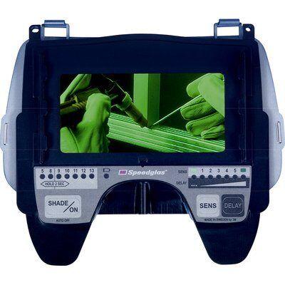 3M Speedglas 9100 Przyłbica spawalnicza z filtrem 9100X z szybkami bocznymi -1