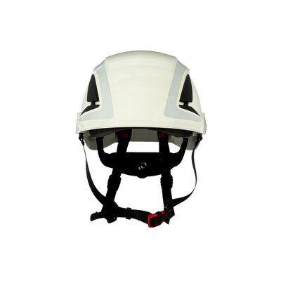 3M SecureFit Hełm ochronny, biały, z wentylacją, z odblaskami, X5001V-CE-1