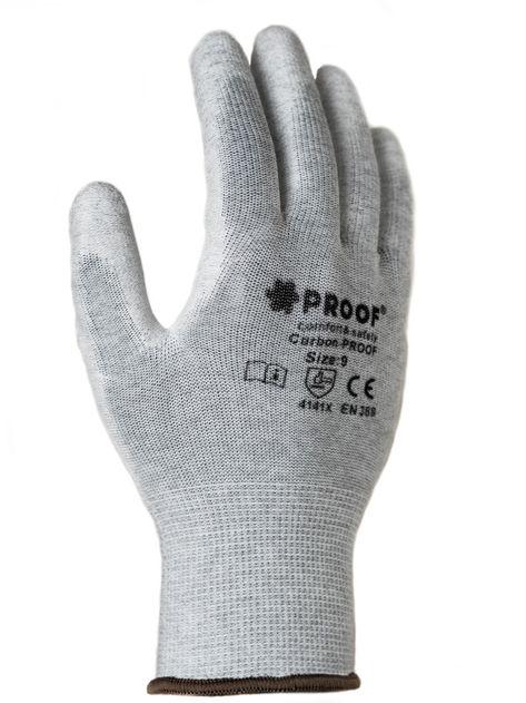 Rękawice antystatyczne Proof Carbon ESD