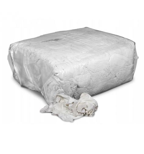 Czyściwo bawełniane białe - opakowanie 10 kg