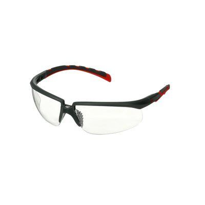 3M Okulary ochronne Solus 2000, bezbarwne soczewki, S2001SGAF-RED-EU