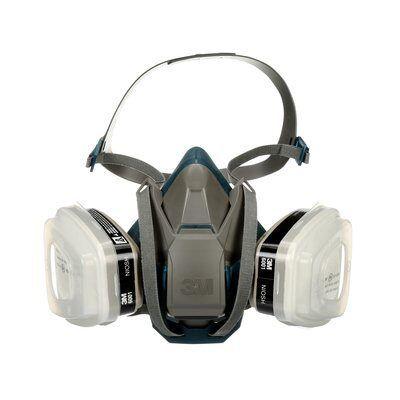 3M Półmaska wielokrotnego użytku z opcją Quick Latch, 36502QL-3