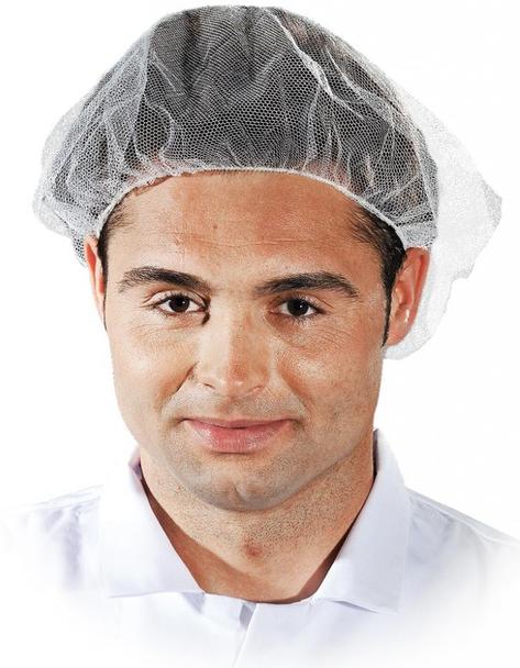 Czepek higieniczny siatkowy CZE-S W