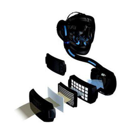 3M Speedglas Przyłbica spawalnicza 9100 Air z filtrem 9100X z systemem Adflo 56 77 15-3