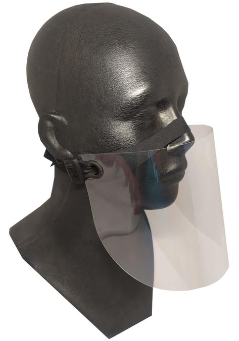 Półosłona twarzy - przyłbica uniwersalna