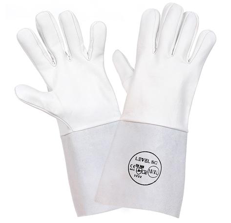 Rękawice spawalnicze TIG z koziej skóry