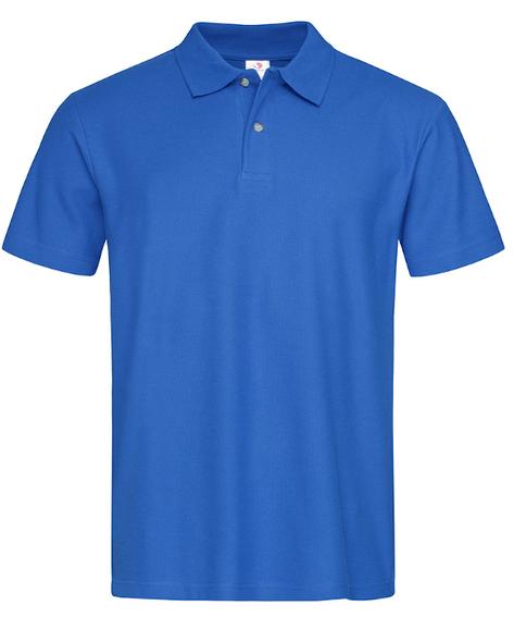 Koszulka polo z krótkim rękawem ST3000 STEDMAN niebieski