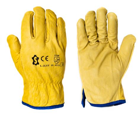 Rękawice robocze ocieplane ze skóry L-2YF