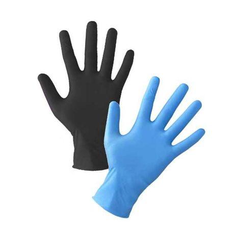 Rękawice nitrylowe kolory 100 szt.