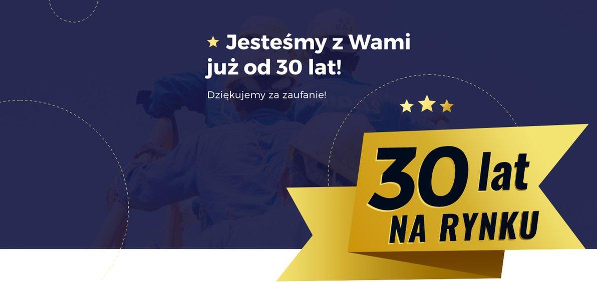 30 lat na rynku