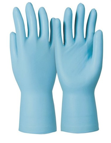 Rękawice chemoodporne 741 Dermatril - 100 sztuk
