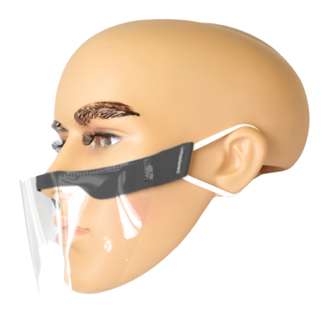 Półosłona twarzy, mini przyłbica JAGATEX