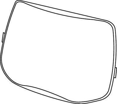 3M Zewnętrzna szyba ochronna, standardowa do przyłbic spawalniczych Speedglas 9100 52 60 00