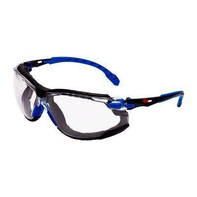 3M Okulary ochronne Solus 2000, piankowa uszczelka, bezbarwne soczewki, S2001SGAF-BGR-F-EU