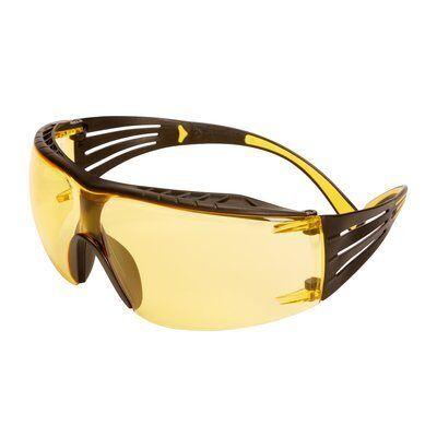 3M Okulary ochronne SecureFit 400 z powłoką Scotchgard, żółte soczewki, SF403SGAF-YEL EU