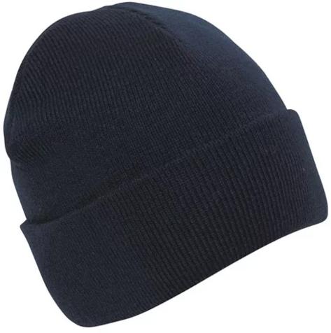 Gruba czapka robocza z włóczki CMG