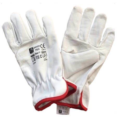 Rękawice z koziej skóry DRIVER TEC