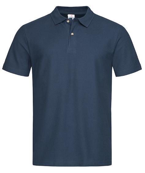 Koszulka polo z krótkim rękawem ST3000 STEDMAN granat