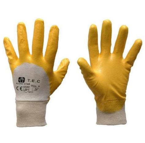 Rękawice powlekane nitrylem ECONOSTAR
