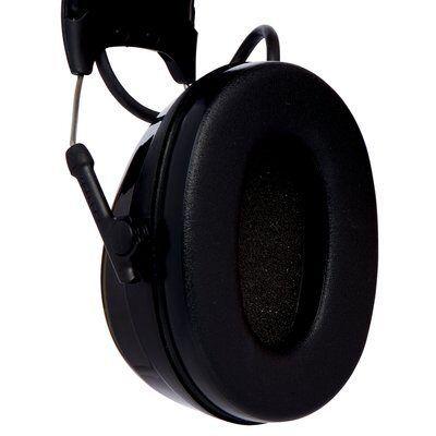 3M PELTOR ProTac III Headset, Black, 32 dB, Headband, MT13H221A-2