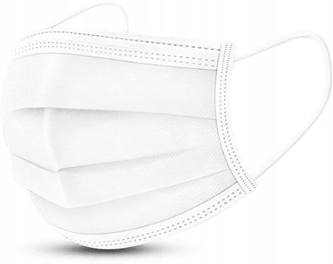 Maska higieniczna trzywarstwowa