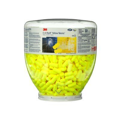 3M Wkład wymienny E-A-Rsoft™ Yellow Neons™ PD-01-002, w butli 500 par