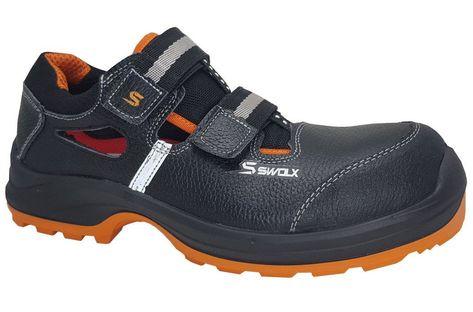 Sandały STAR-X 60 S1P czarne SWOLX