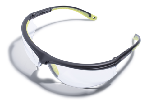 Okulary ochronne bezbarwne ZEKLER 45 HC art. 380600452-1