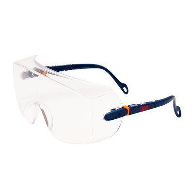 3M™ Seria 2800 Okulary ochronne bezbarwne nakładane na okulary korekcyjne
