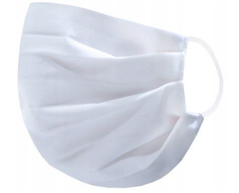 Maseczka tkaninowa jednowarstwowa - biała
