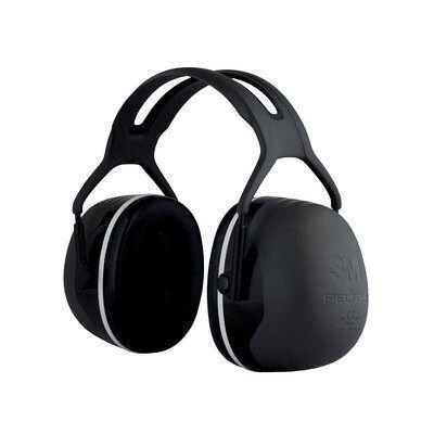 3M Nauszniki przeciwhałasowe Peltor X4, SNR 37 dB, czarne, X5A