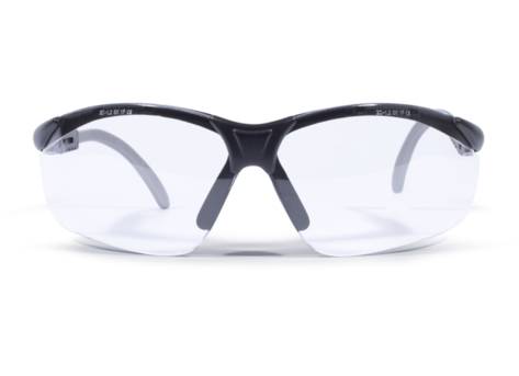 Okulary ochronne bezbarwne ZEKLER 55 HC/AF art. 380605071