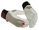 Rękawice robocze GUIDE 43 skórzane + rzep