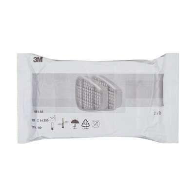 3M™ 6051 Pochłaniacz przeciw parom organicznym, A1, 6051-7