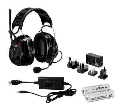 3M Ochronnik słuchu PELTOR WS Alert XP - nagłowny z akumulatorami i ładowarką