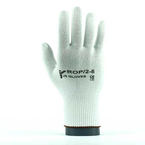 Rękawice robocze JS Gloves Poliamidowe ROP