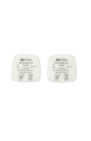 3M Secure Click Wymienny filtr przciwpyłowy P2 R D7925