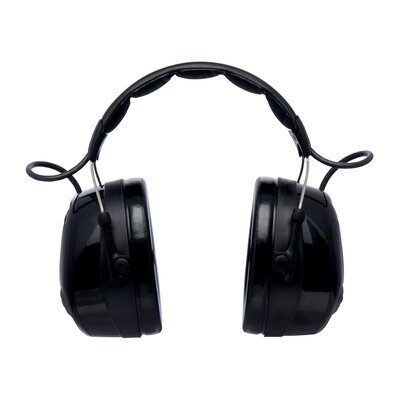 3M PELTOR ProTac III Headset, Black, 32 dB, Headband, MT13H221A-3